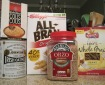 whole grain products supplying B-complex, fiber and protein