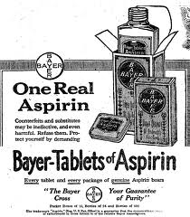 bayer aspirin original ad