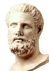 Statue head of Hippocrates