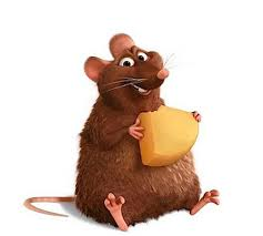 cartoon-rat-With-cheese