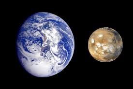 comparision-of-earth-versus-mars