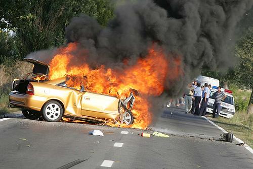 Horrible Car Crashes