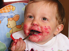 child-enjoys-eating-beets-mess
