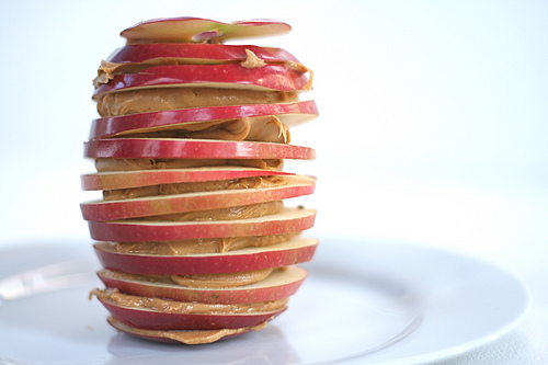 apple-peanut-butter-snack