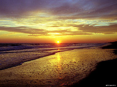 north-carolina sunset-beach-breathtaking