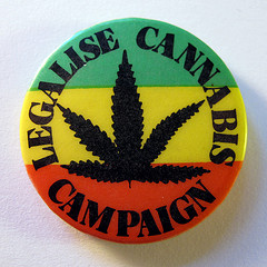 button-tri-colored-stating-legalise-cannabis-campaign