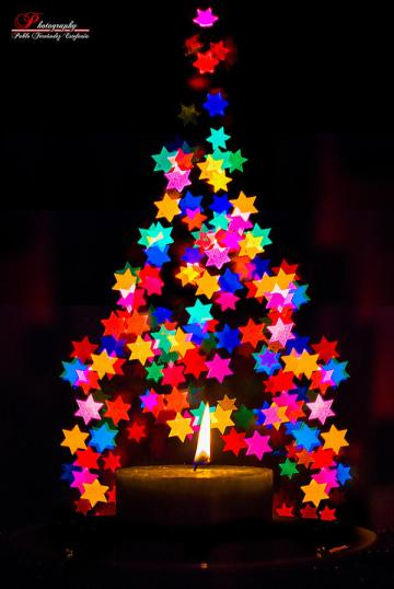 christmas-tree-coloful-abstract-candle-stars