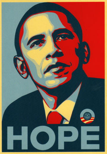 obama-poster-of-hope-for-change-his-upper-body-displayed