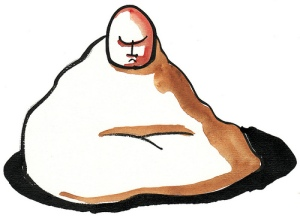 graphic-illustration-man-meditating-relaxation-bliss