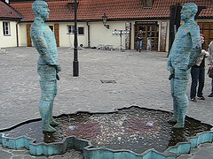 two-statues-prague-pissing-fountain-urine-excreted-through-penis