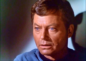 Dr-McCoy-StarTrek-Deforest-Kelly-movie-episode-with-him-dispensing-dialysis-pill-Voyage-Home