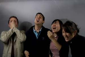 four-students-sneezing
