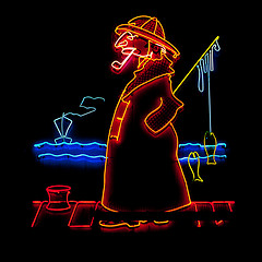 local-fishman-neon-advertisement-sign